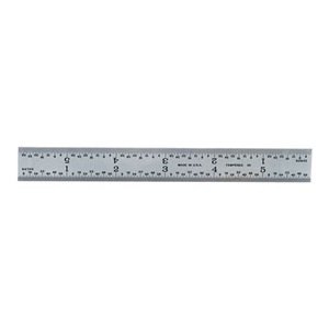 PEC Rigid Steel Rule - Model: 562-012 Size: 300mm Width: 1