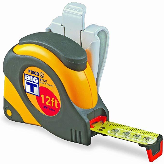 BT12E - Fisco Big T Tape Measure 3/4