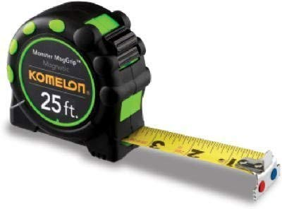 Komelon USA 7125 1″ X 25′ Tape Rule Review