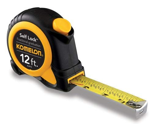 Komelon SL2912 Self Lock Speed Mark 12-FootPower Tape