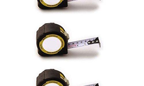FastCap PMS-25 ProCarpenter 25′ Metric/Standard Measuring Tapes, 3-Pack Review