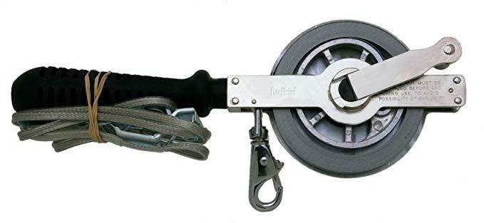 Lufkin C2915MME590 13mm 1/2-Inch x 15m 50-Foot Oil Gauging Atlas Chrome Clad Tape