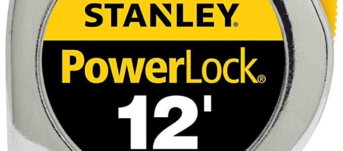 Stanley Hand Tools 33-312 3/4″ X 12′ PowerLock® Professional Tape Measure Review
