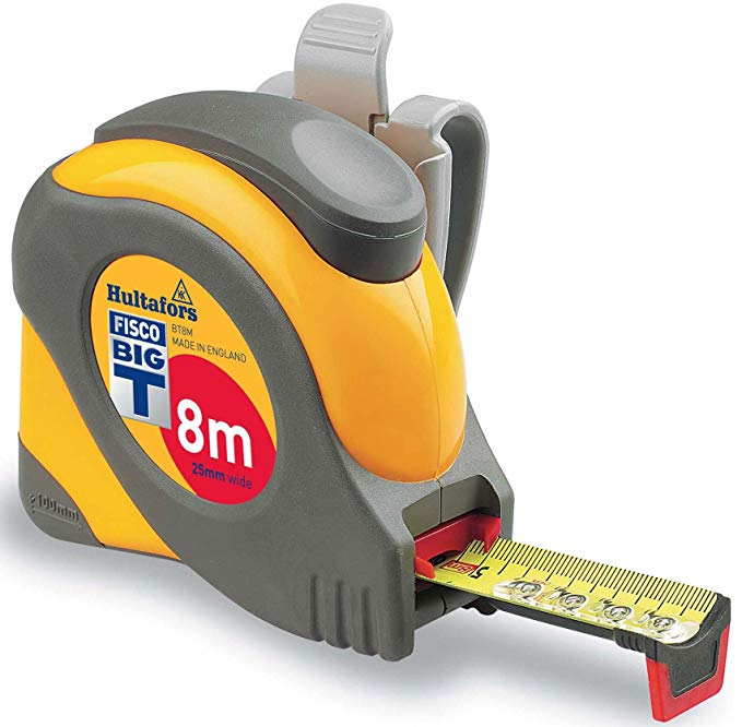 BT8M - Fisco Big T Metric Tape Measure 1