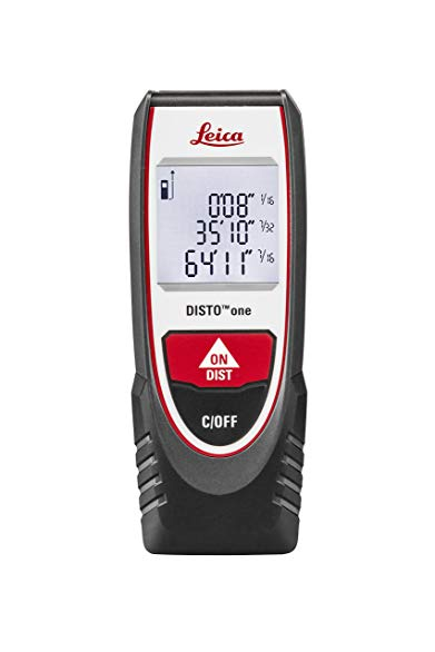 Leica Geosystems, US Tools, LEIAD 854589 Leica Disto One Laser Distance Meter